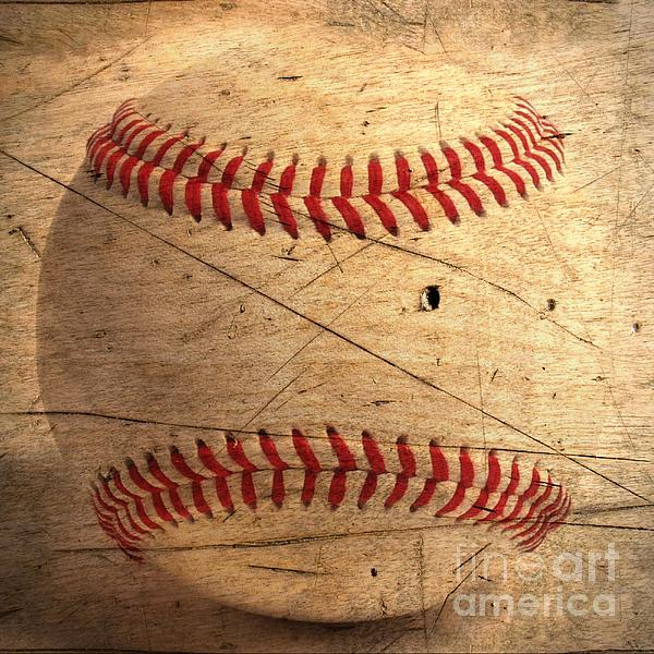 Baseball Print by M and L Creations