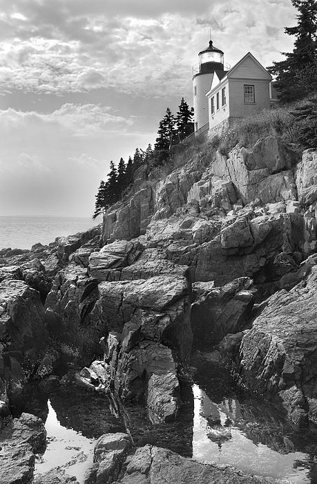 Bass Harbor Light Print by Mike McGlothlen