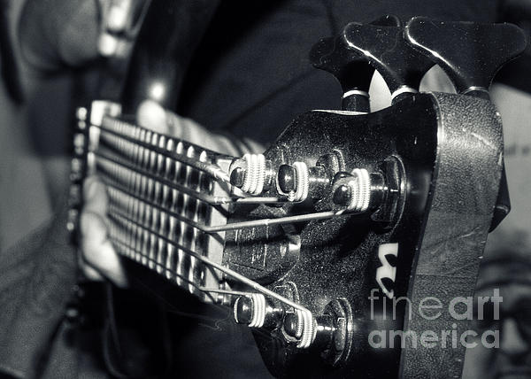 Bass  Print by Stylianos Kleanthous