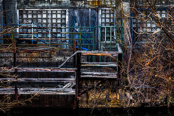 Bates Mill No 5 Print by Bob Orsillo