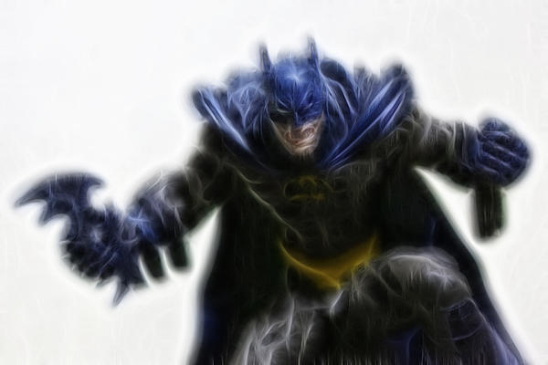 Batman - The Joker's Dream Print by Lee Dos Santos