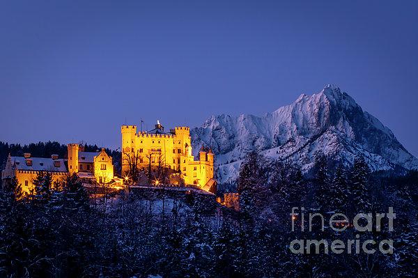 Bavarian Castle Print by Brian Jannsen