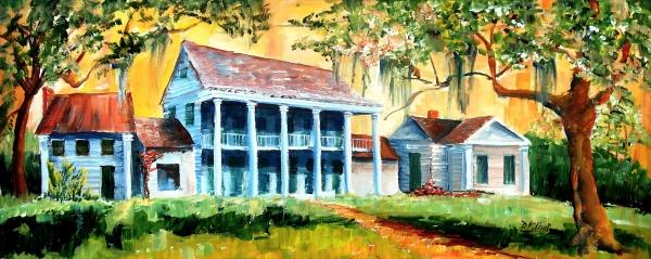 Bayou Country Print by Diane Millsap