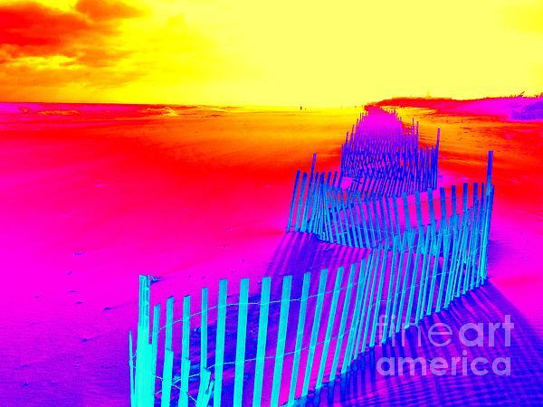 Beach Dream Print by Ed Weidman