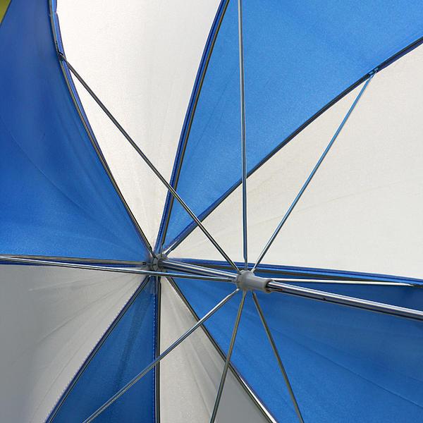 Beach Umbrella Print by Art Block Collections