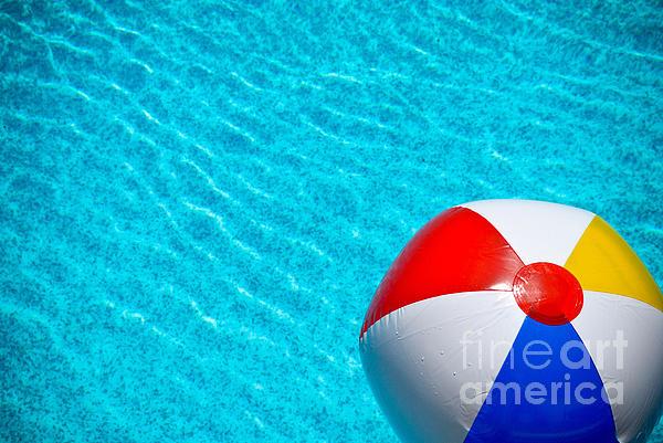 Beachball 1 Print by Amy Cicconi