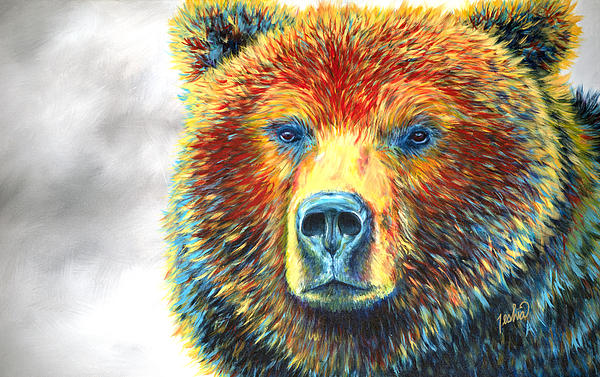 TeshiaArt - Bear Thoughts