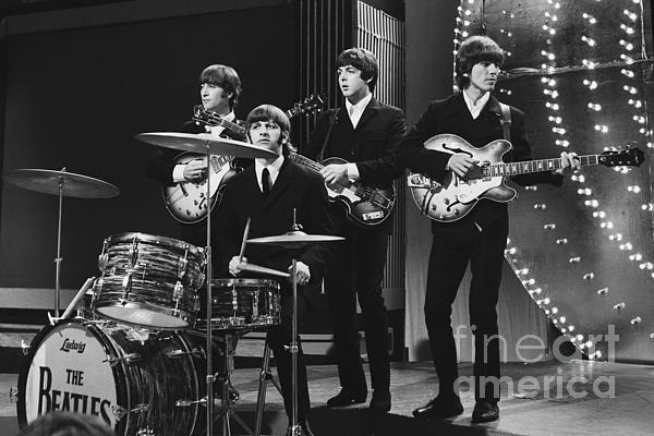 Beatles 1966 24x36 Size Print by Chris Walter