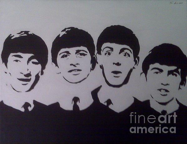 Beatles Print by Tamir Barkan