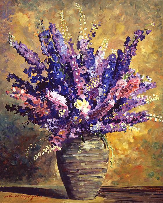 Beaujolais Bouquet Print by David Lloyd Glover
