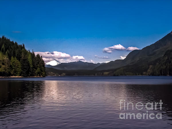 Beautiful Bc Print by Robert Bales