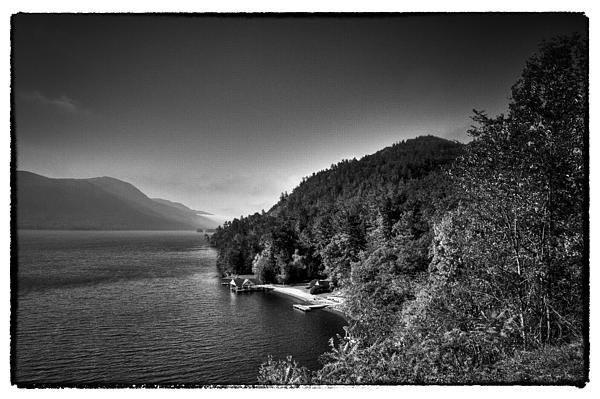 Beautiful Lake George Print by David Patterson