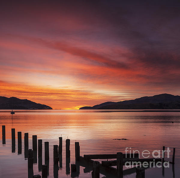 Beautiful Sunrise Print by Colin and Linda McKie