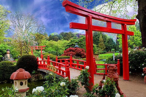 Beautiful Zen Garden Print by Julia Fine Art And PhotographyZen Garden Photography