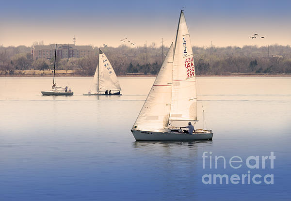 Becalmed Print by Betty LaRue