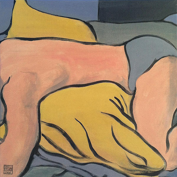 Bedscape One Am Print by Stan  Magnan