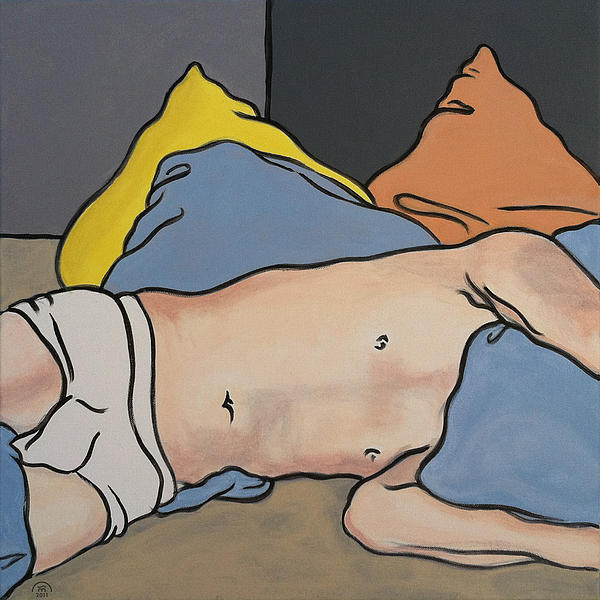Bedscape One-thirty Am Print by Stan  Magnan