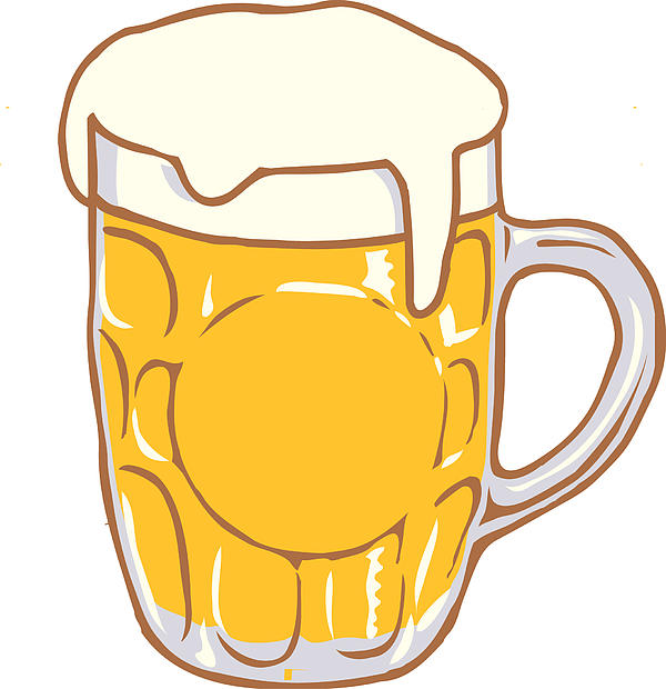beer stein clipart free - photo #26