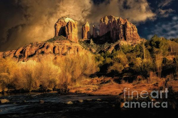 Before The Rains Came Print by Jon Burch Photography