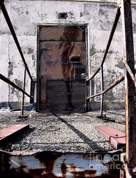 Behind Door No. One Print by Andrea Kollo