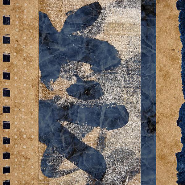 Behind The Screen Print by Carol Leigh