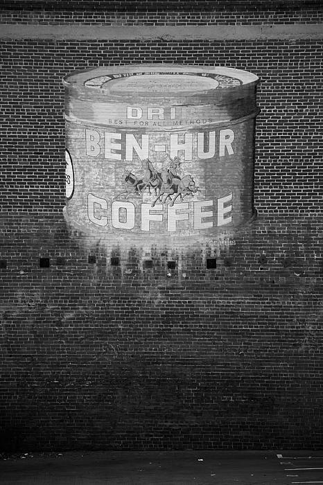 Ben Hur Coffee Print by Peter Tellone