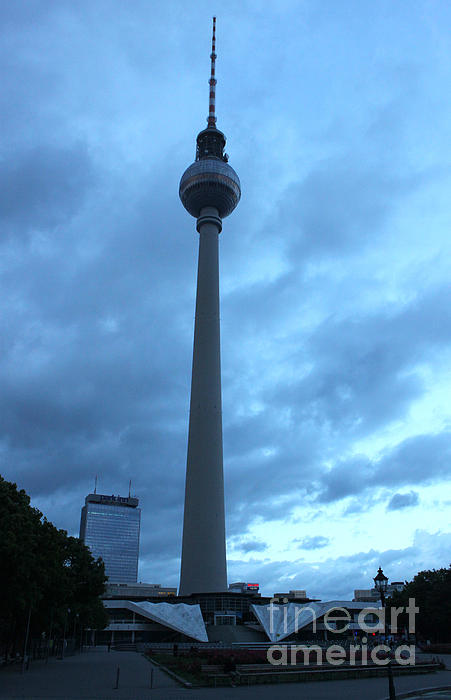 Berlin - Berliner Fernsehturm - Radio Tower No.02 Print by Gregory Dyer