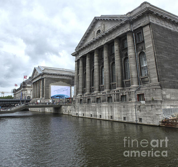 Berlin - Pergamon Museum - No.04 Print by Gregory Dyer