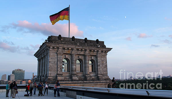 Berlin - Reichstag Roof - No.09 Print by Gregory Dyer