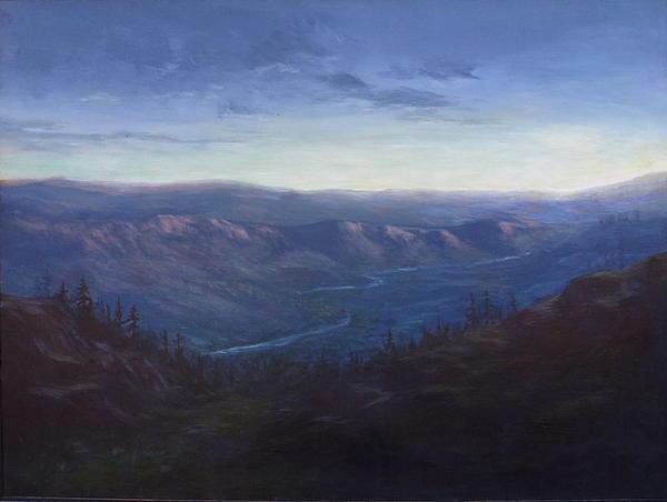 Bethel Ridge Sunrise Print by Charles Smith