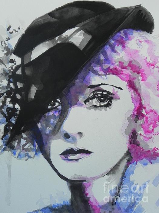 Bette Davis 02 Print by Chrisann Ellis