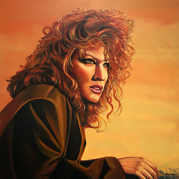 Bette Midler Print by Paul  Meijering