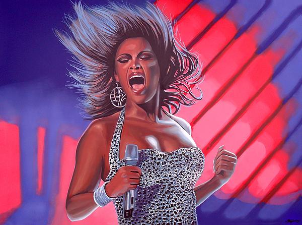Beyonce Print by Paul  Meijering