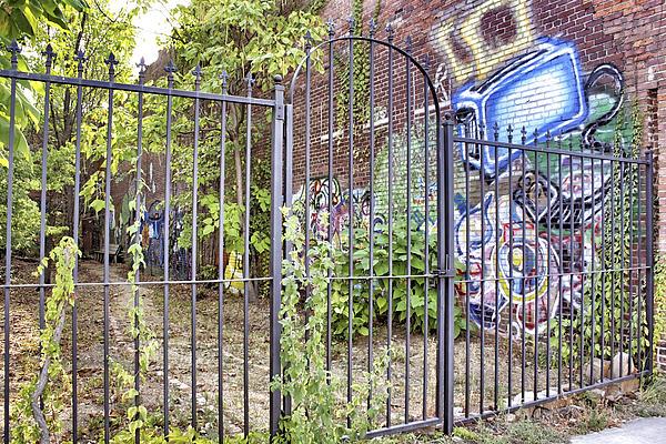 Beyond The Gate Print by Jason Politte