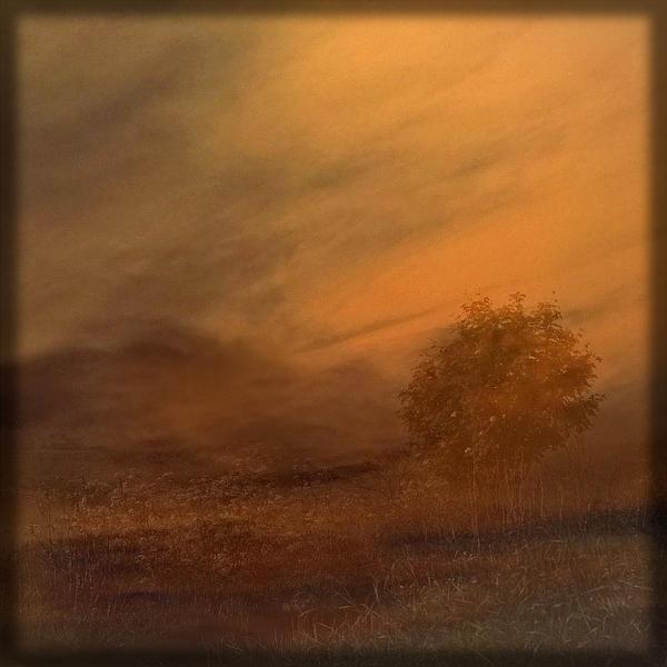 Beyond The Rowan Tree Print by Liz  Alderdice