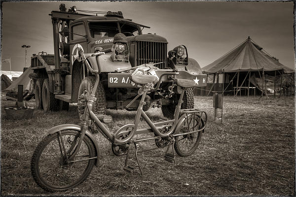 Bicycle Made For Two Print by Jason Green