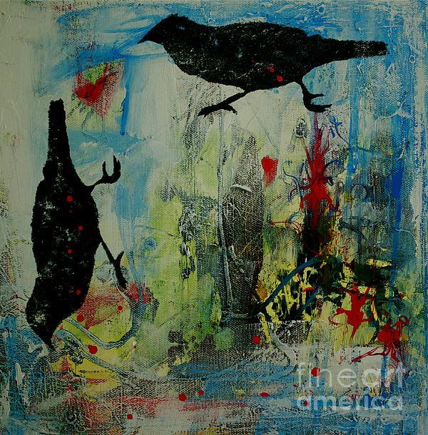 Bidwell Birds 3 Print by Betty OHare