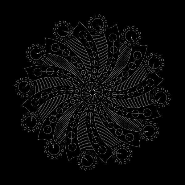 Big Bang Inverse Print by DB Artist