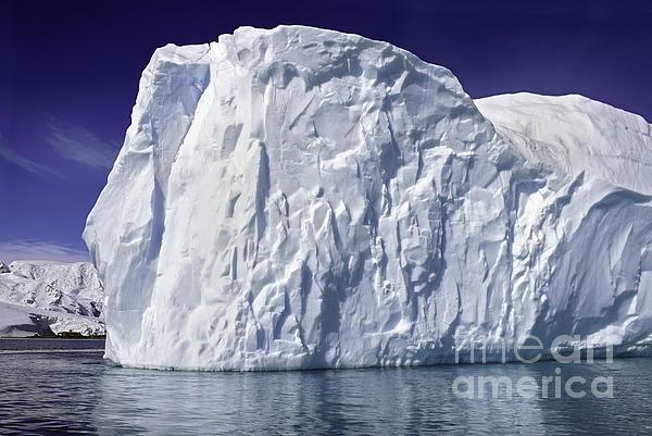 Big Iceberg Print by Boon Mee