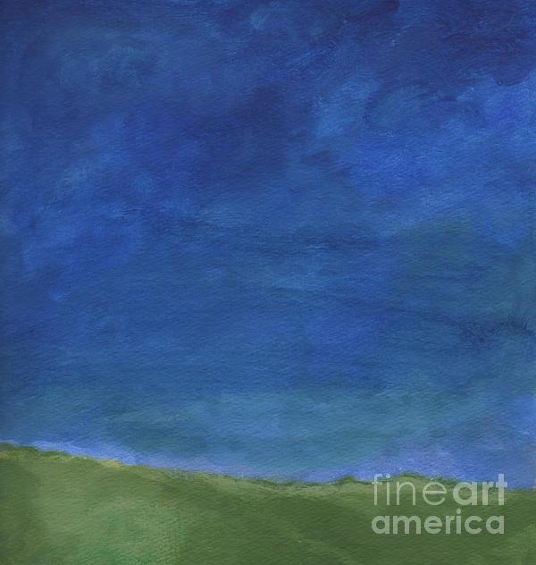 Big Sky Print by Linda Woods