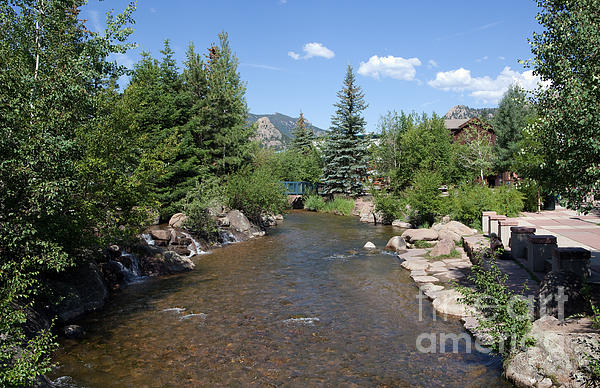 Big Thompson Estes Park Print by Kay Pickens