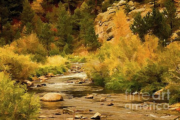 Big Thompson River 8 Print by Jon Burch Photography