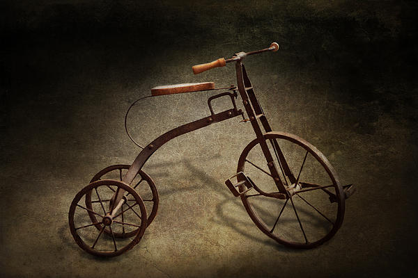 Bike - The Tricycle  Print by Mike Savad