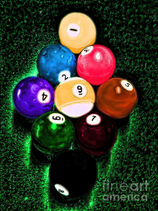 Lesa Fine - Billiards Art - Your Break