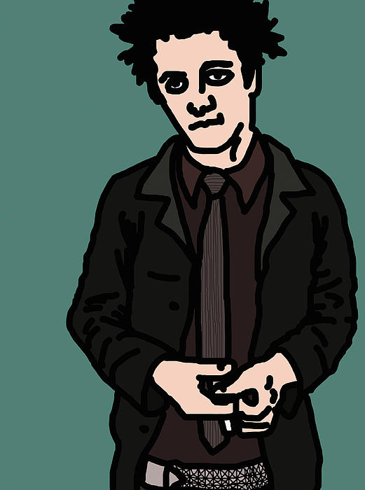 Billie Joe Armstrong Print by Jera Sky