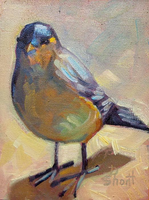 Bird Left Print by Donna Shortt