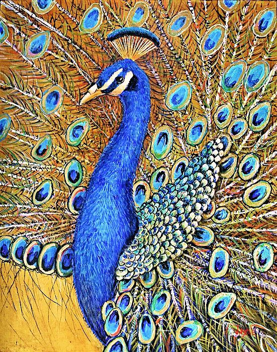 Bird Of Paradise Print by JAXINE Cummins