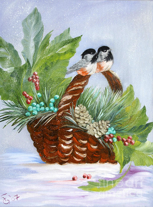 Ilona Anita Tigges - Goetze - Birds in the snow
