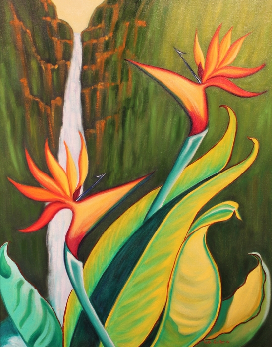 Ruth Soller - Birds of Paradise