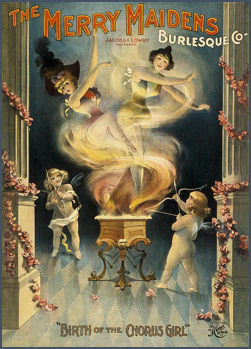 Birth Of The Chorus Girl Print by Aged Pixel